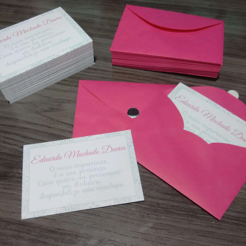 Envelope Presente Em Dinheiro Casamento Elo7