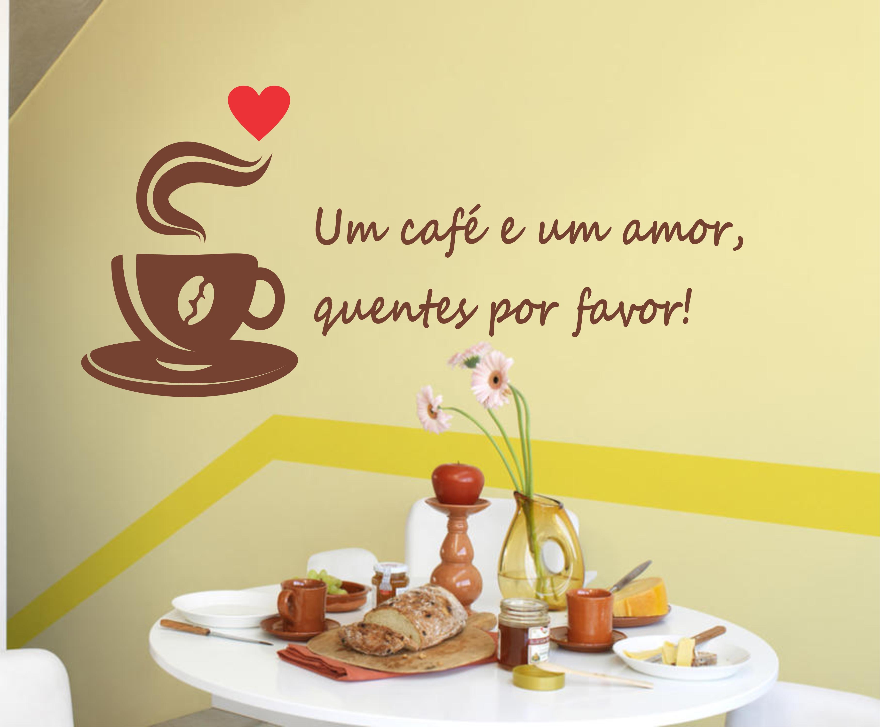 Adesivo De Café Elo7