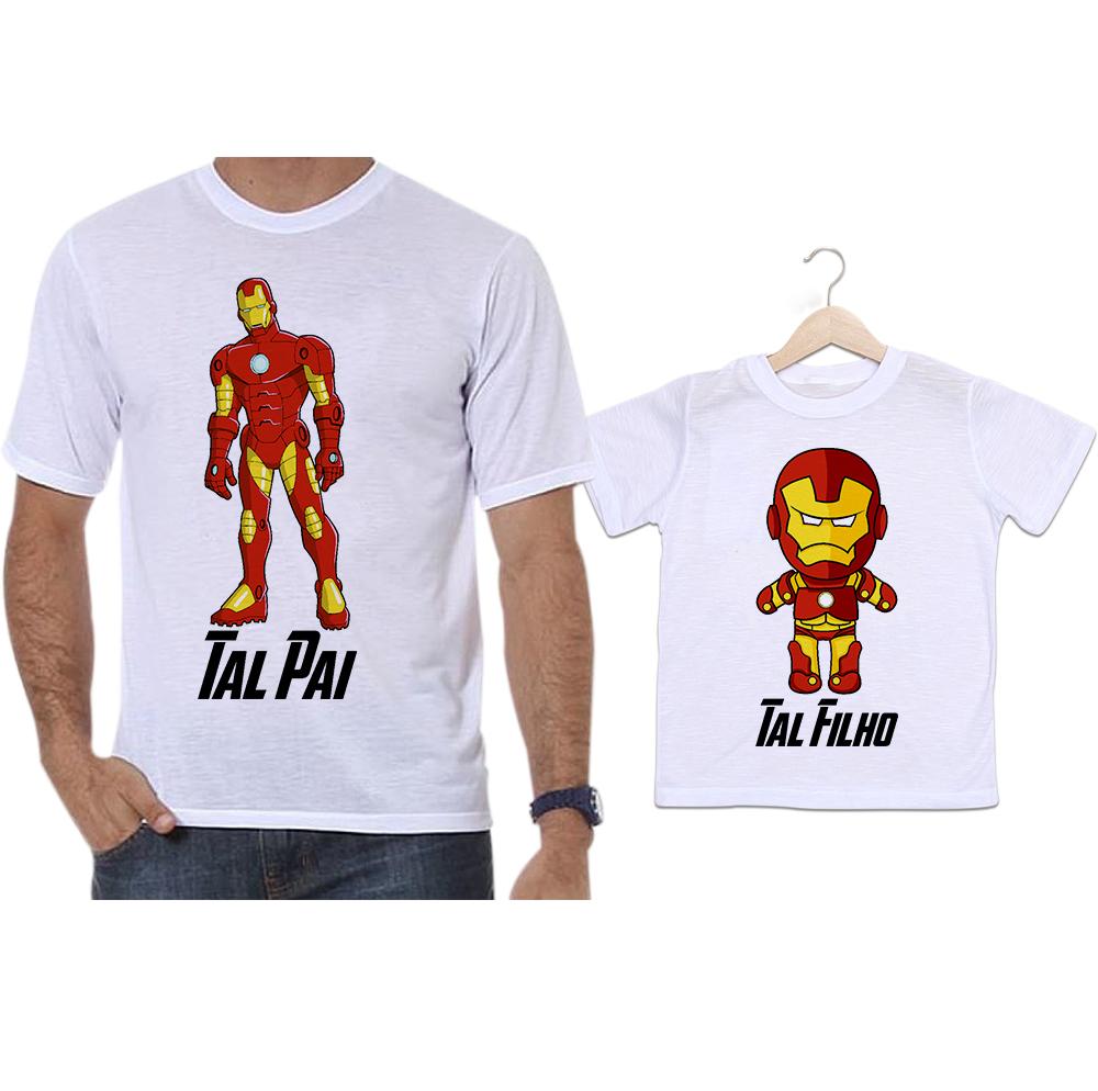 Camisetas Personalizadas para Pai e Filho  bc85aaa789368