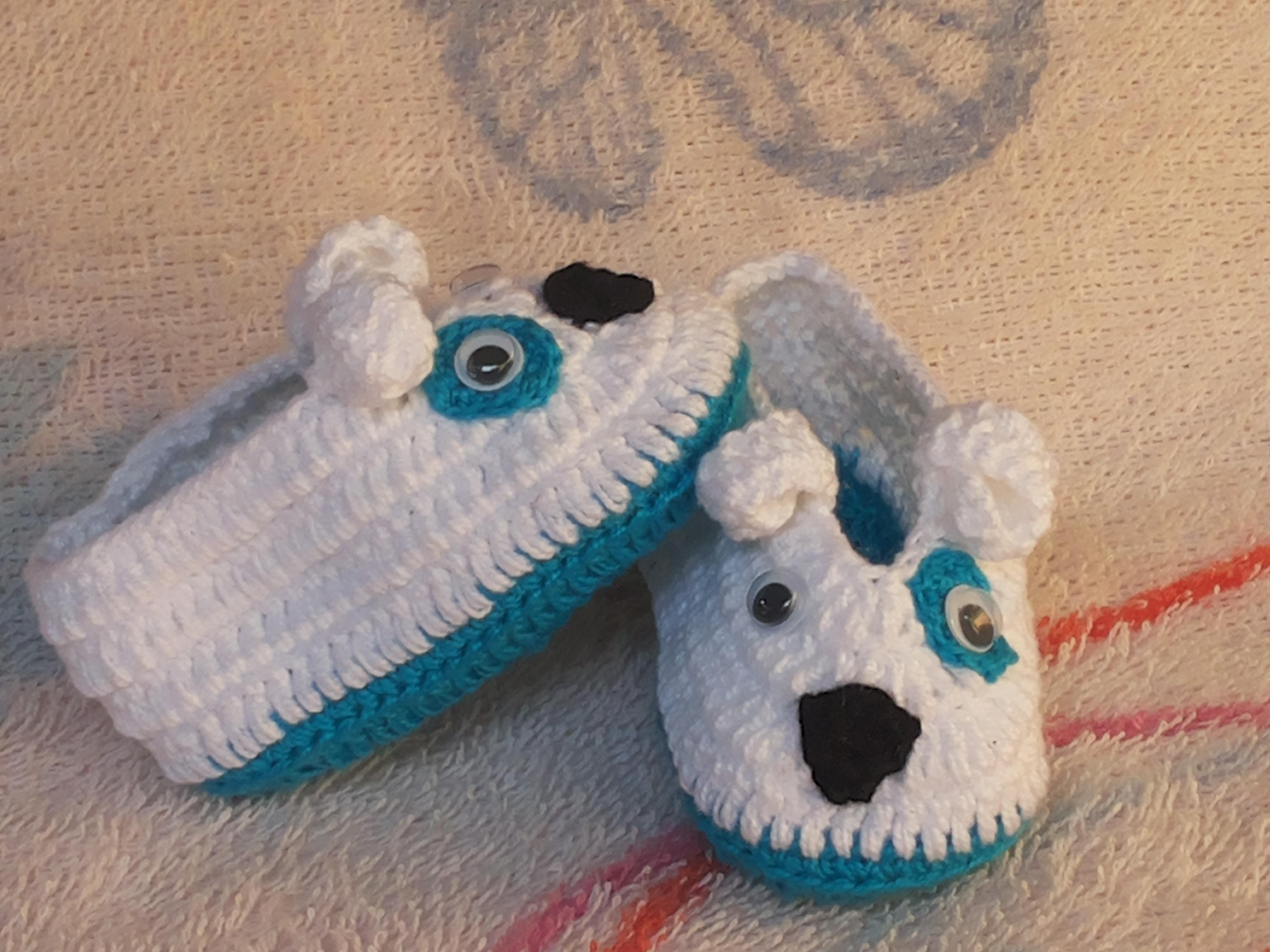 Sapatinho cachorrinho infantil no Elo7  069129b1cc9