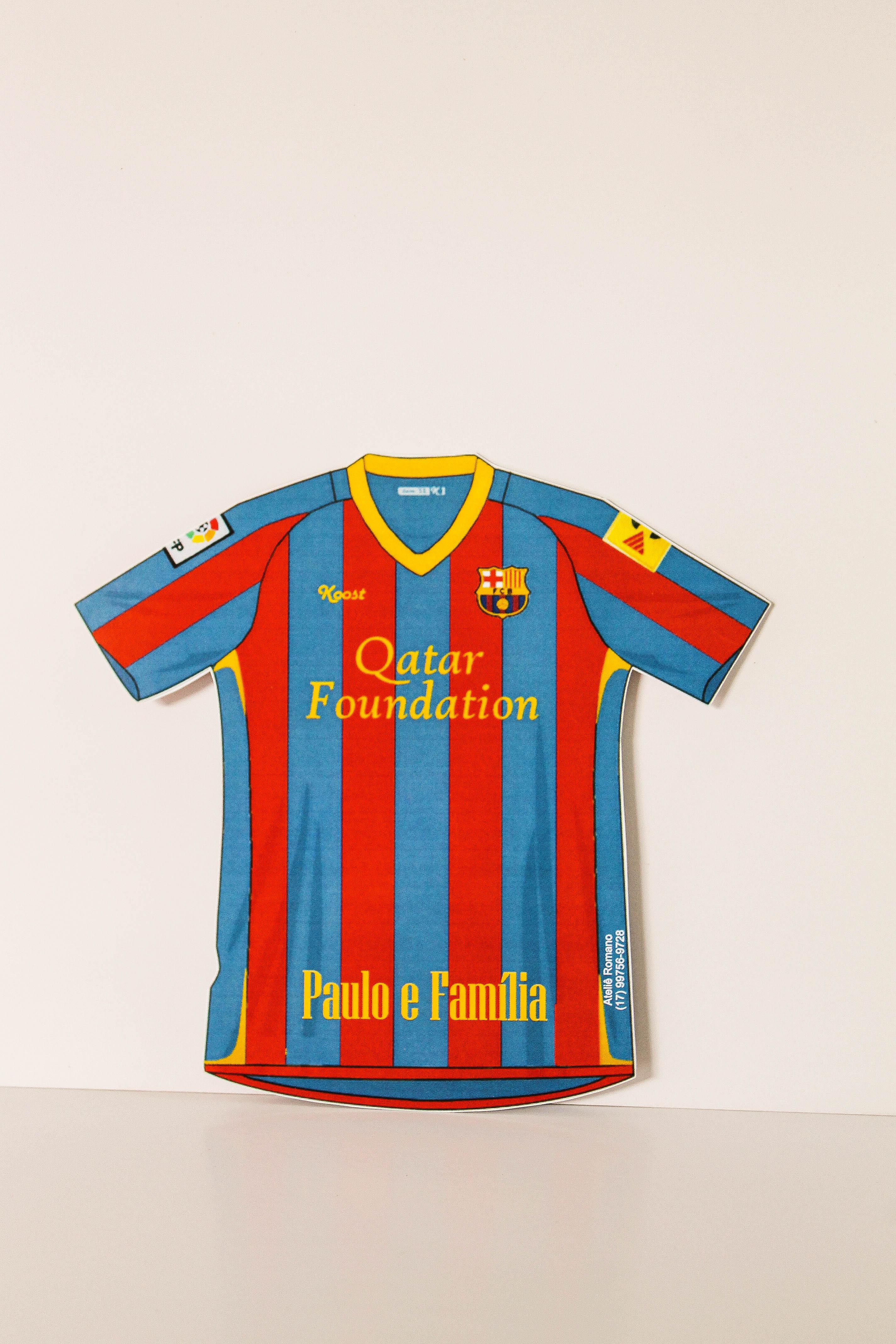 Camiseta Barcelona  75322bdf2e085