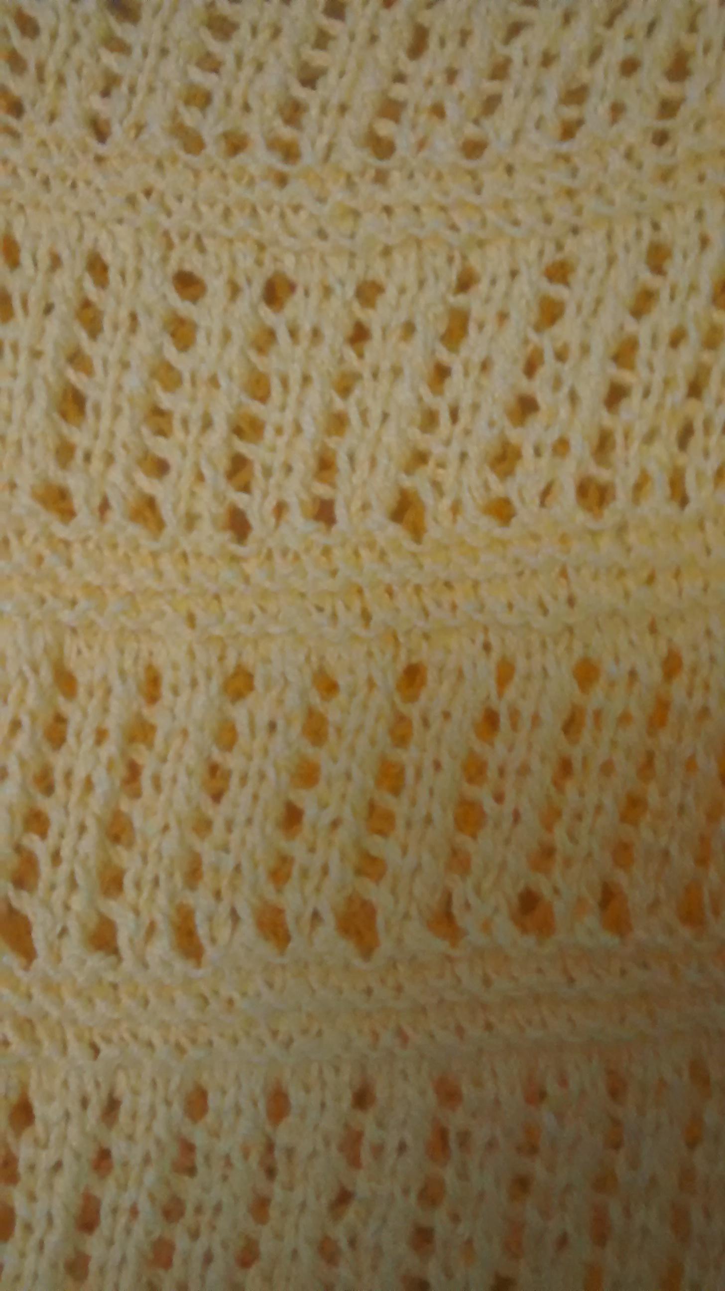 cfa2e28c9b Blusa Amarela de linha em tricô à mão no Elo7