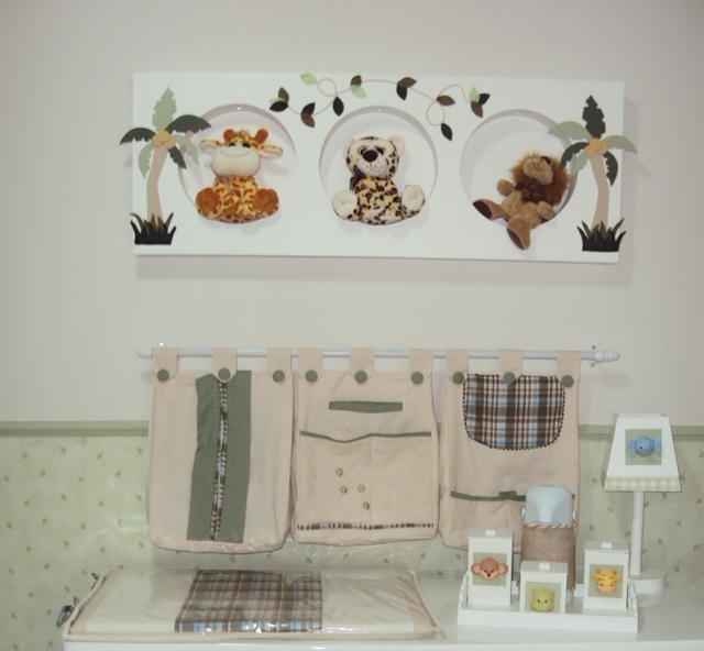 Quarto bebe Safari  Nana Baby Decorações GV  Elo7