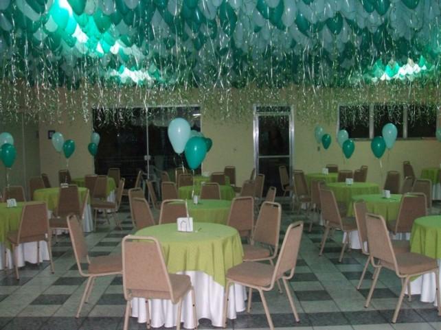 Decoraç u00e3o Balões teto com Gás Hélio ARD Festas e Eventos Decoraç u00e3o de Balões com Gás Hélio
