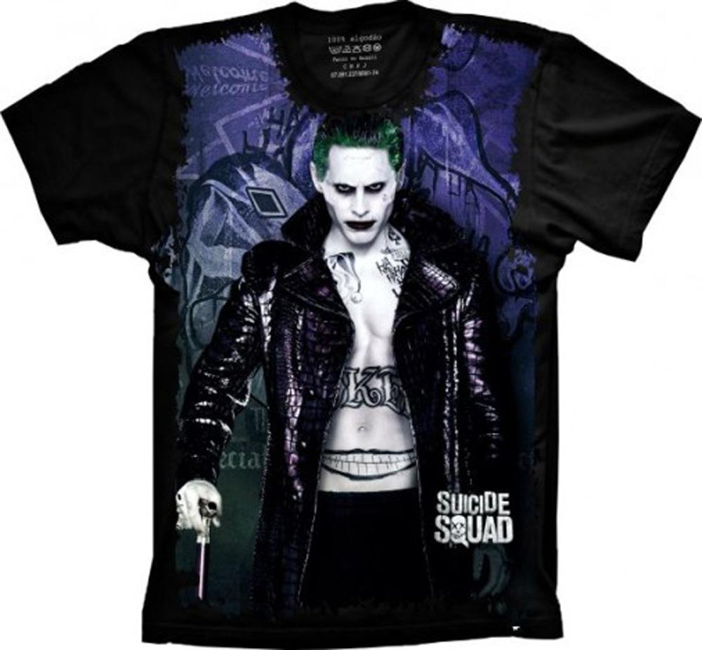Camiseta Coringa Ozzy Joker Masculina  b094c95944a
