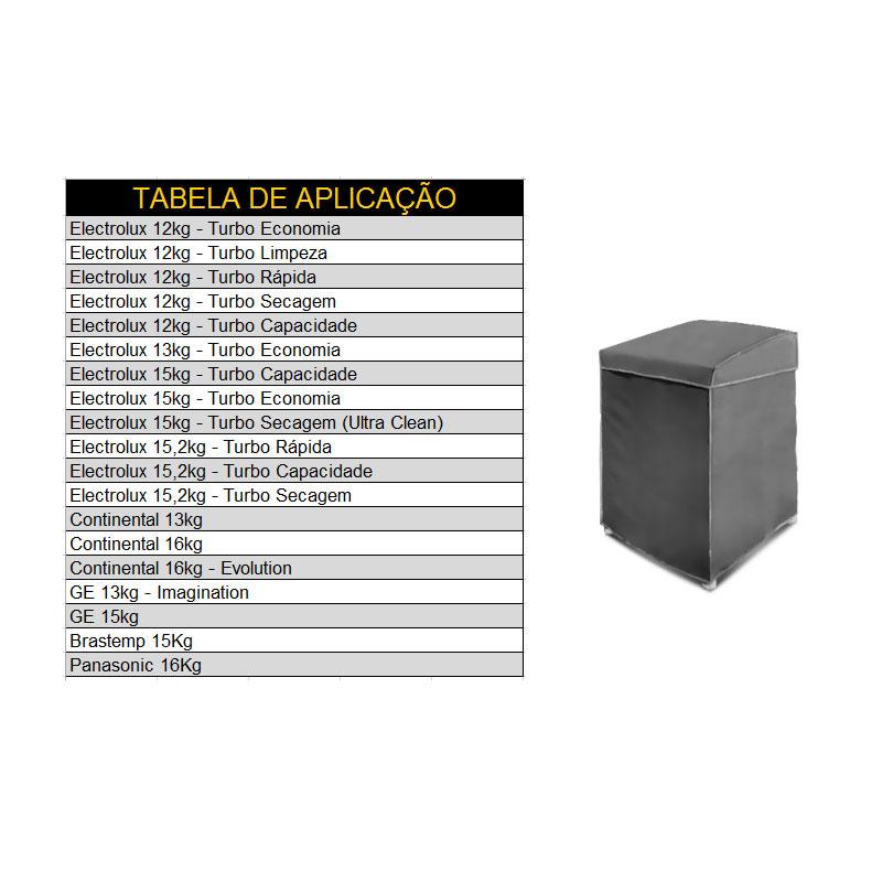 fa8b05238c Tag  Capa Para Máquina De Lavar Roupa Electrolux 16Kg