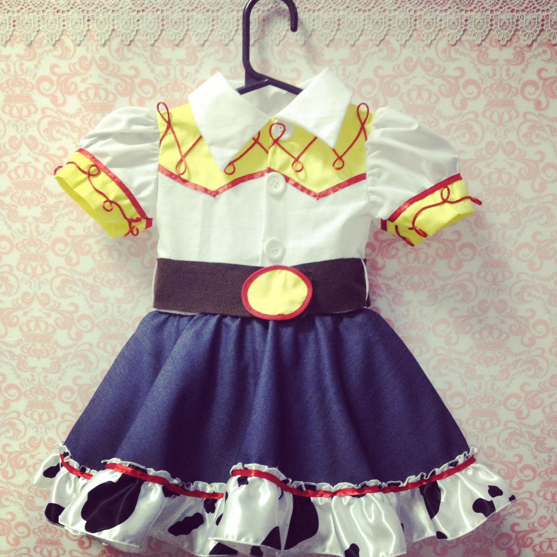 Fantasia Vestido Jessie Toy Story no Elo7  b1008db81cb