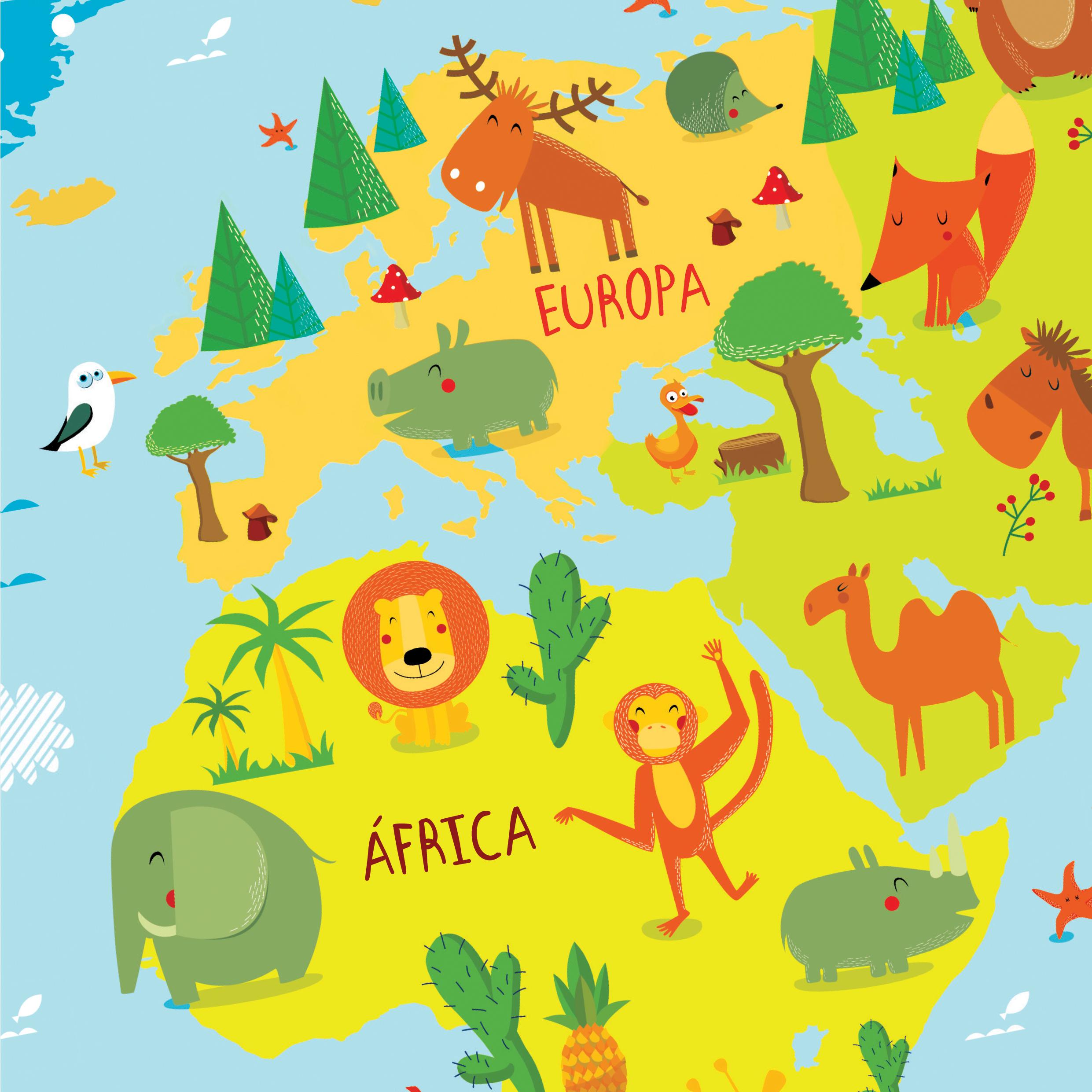 mapa mundi criança Mapa múndi Infantil no Elo7 | Pénareia Prints (7D1C37) mapa mundi criança