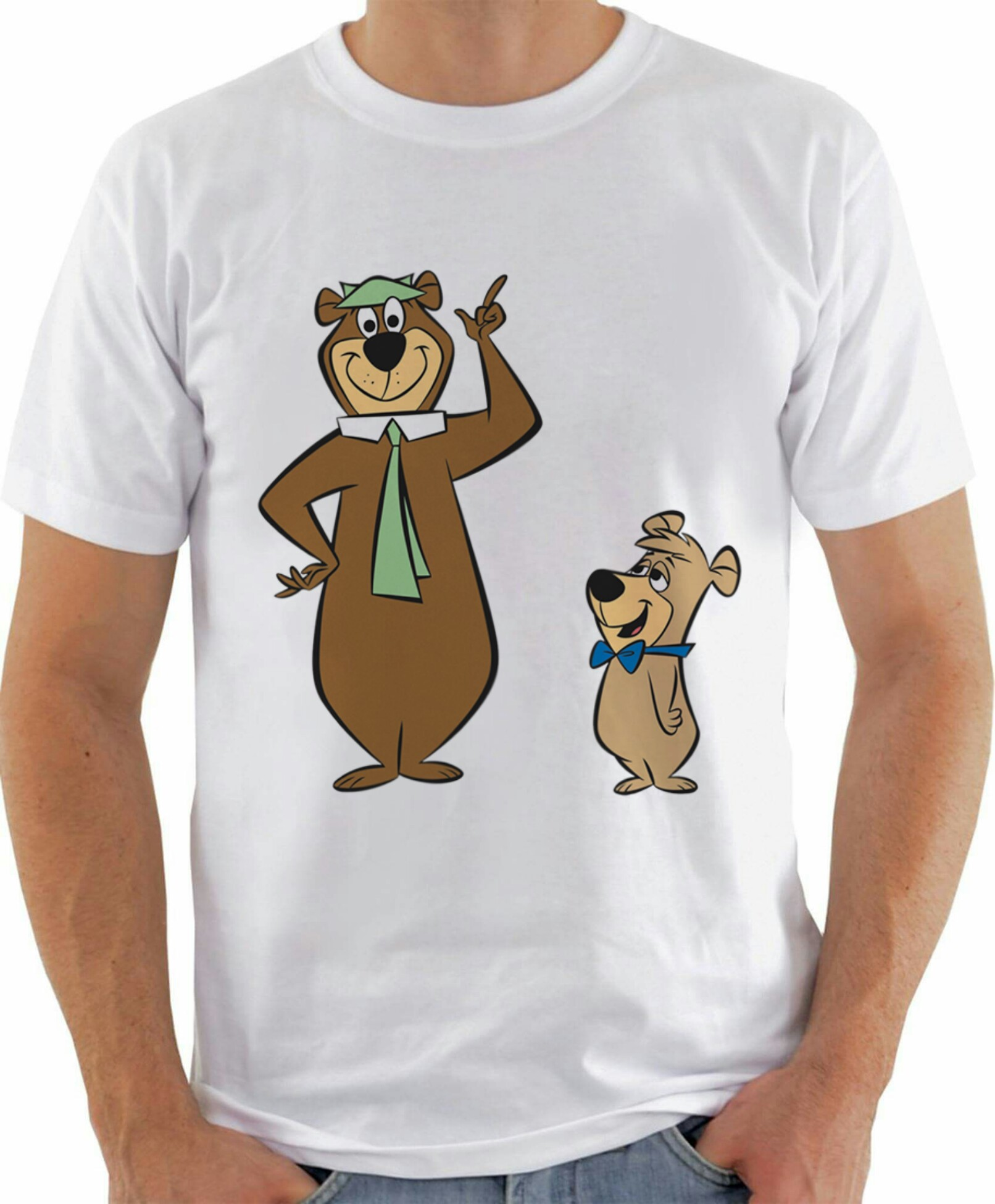 Camiseta Zé Colmeia e Catatau  275e7a0cfe3e5