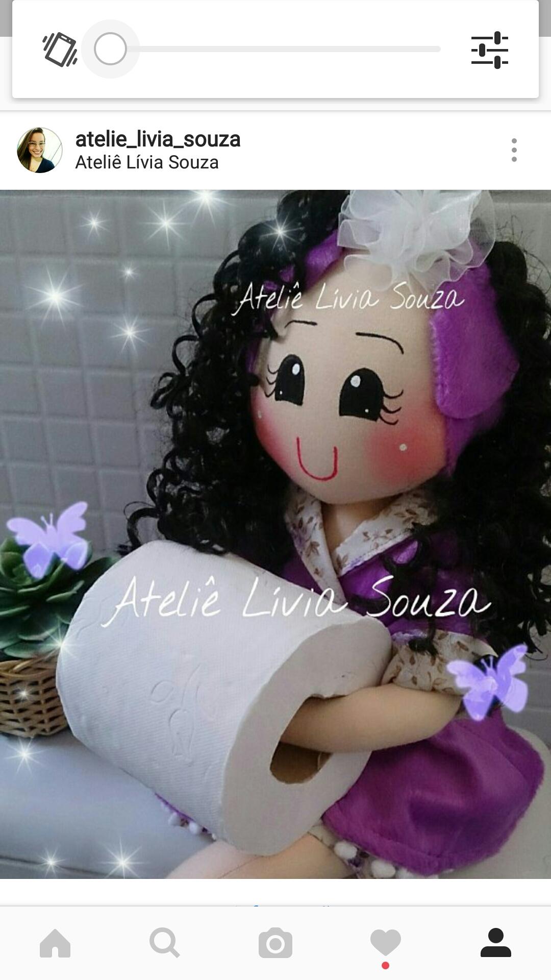 Boneca porta papel higi nico ateli l via souza elo7 for Colgadores para papel higienico