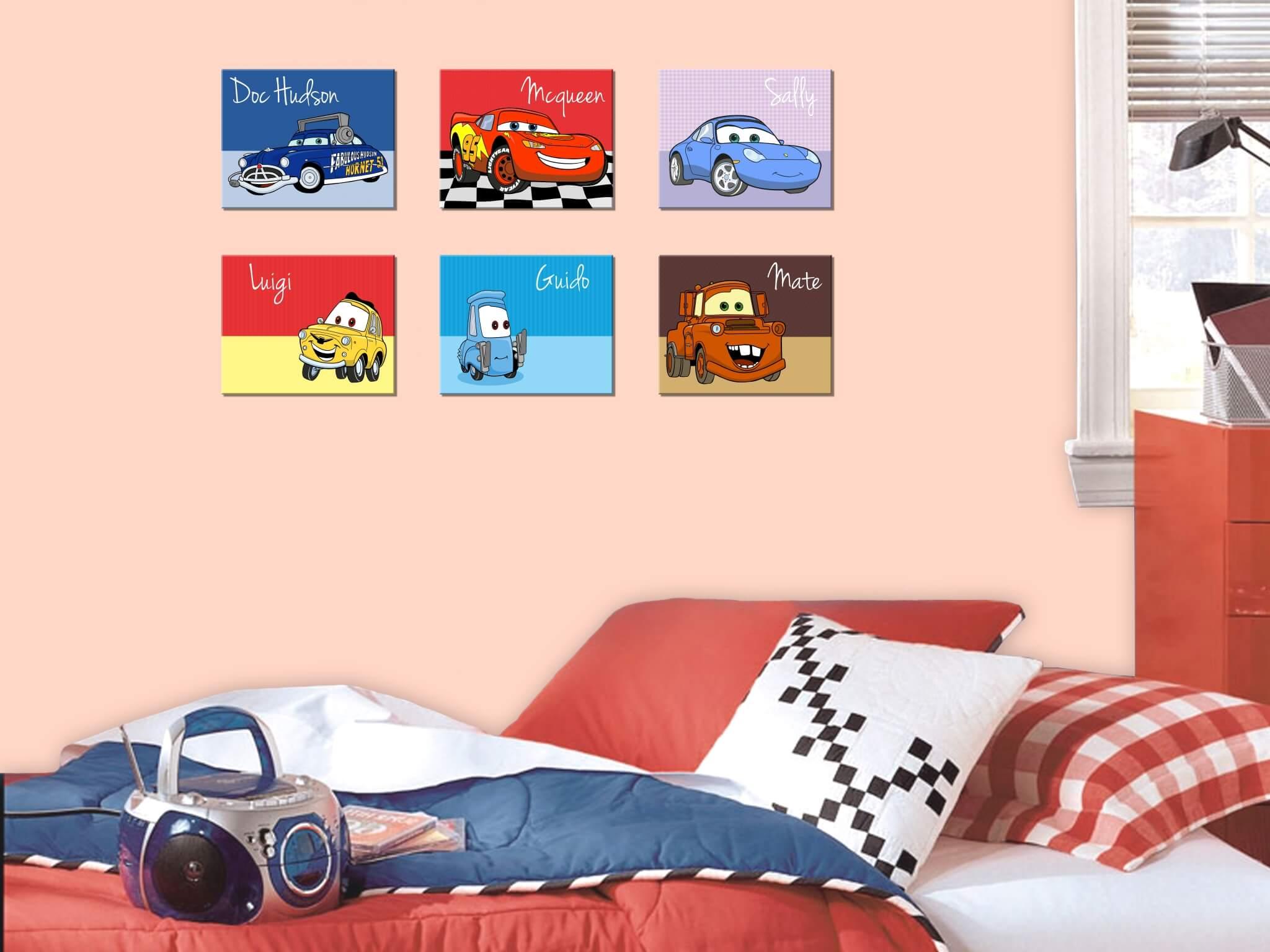 Quadros Carros Vintage Retro Unidade Loja Presente Perfeito  ~ Quarto De Bebe Lindo E Decoracao Quarto Retro