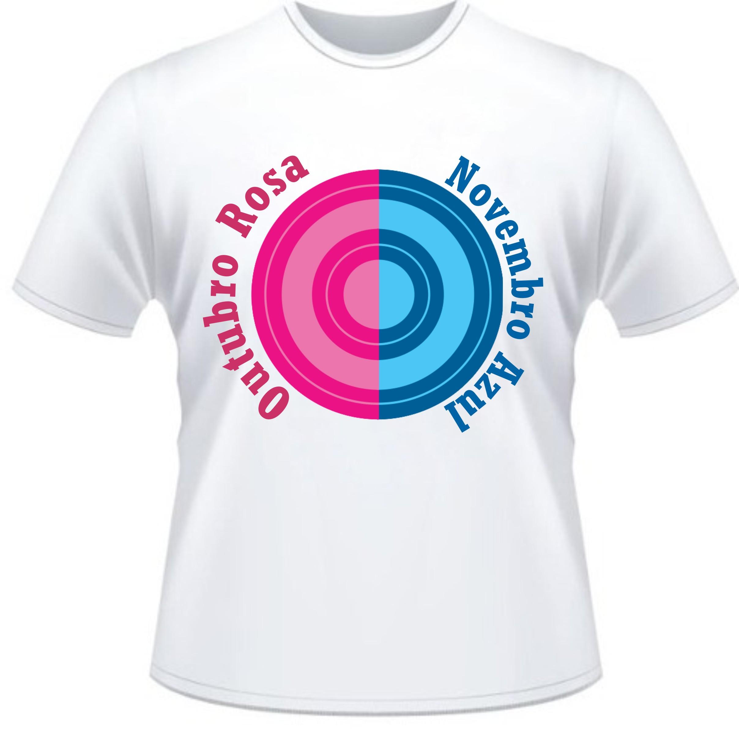 Camiseta Outubro Rosa  4a4ece8e601
