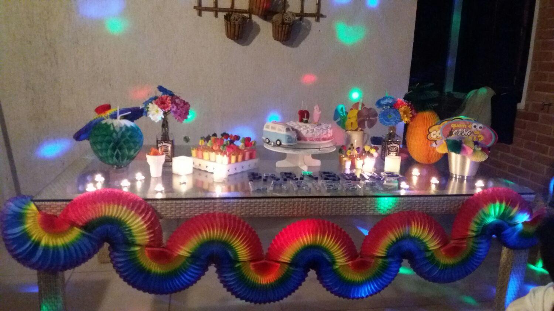 Decoracao festa Havaiana hawai GiroToy Enfeites Elo7 -> Decoração De Festa Havaiana Simples
