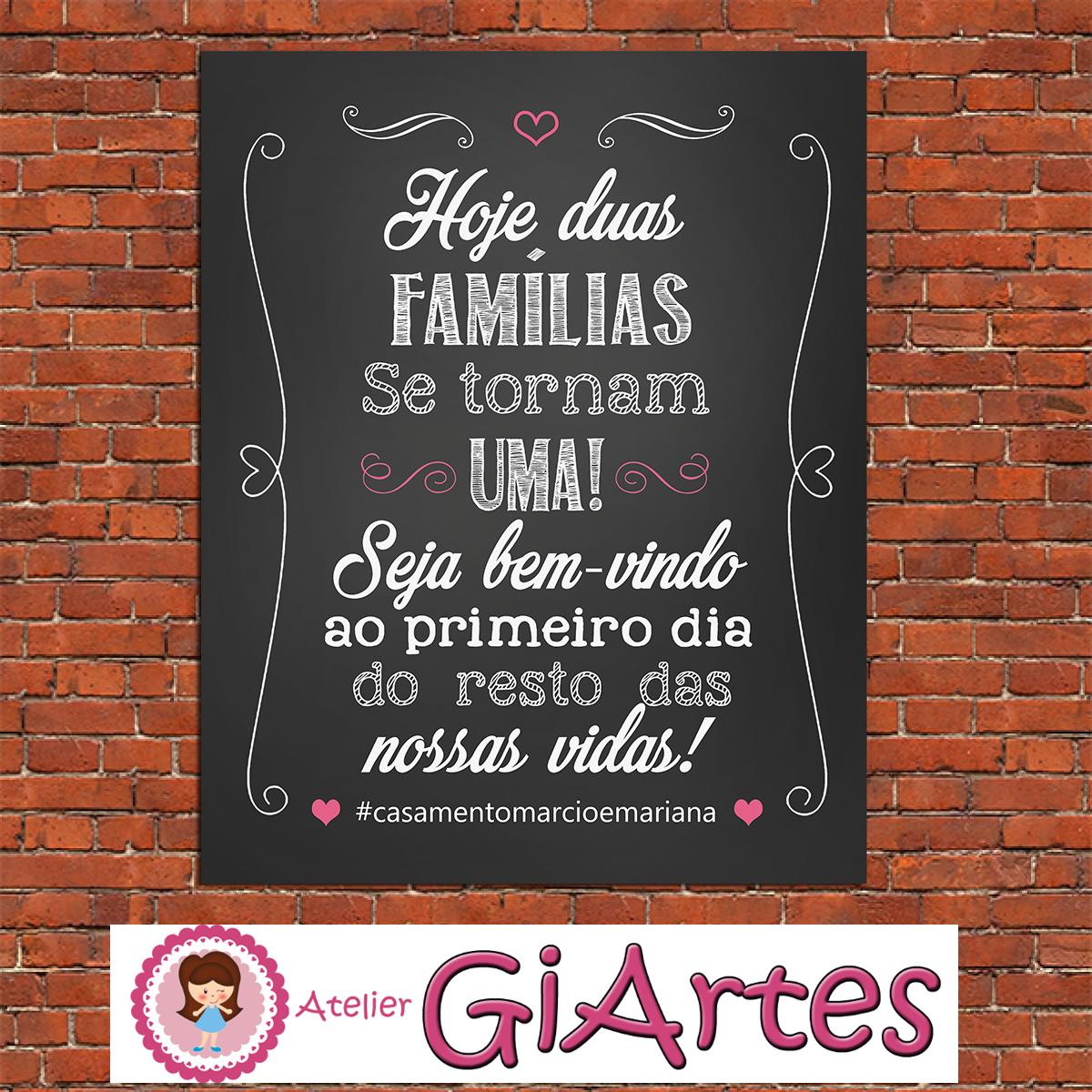Chalkboard Frases Casamento Digital No Elo7 Atelier Giartes 727c3b