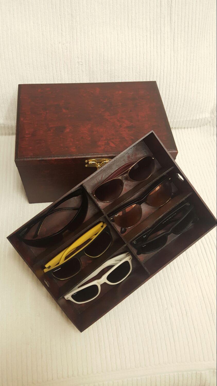 31267951335 Caixa para óculos e relógio do Cruzeiro no Elo7