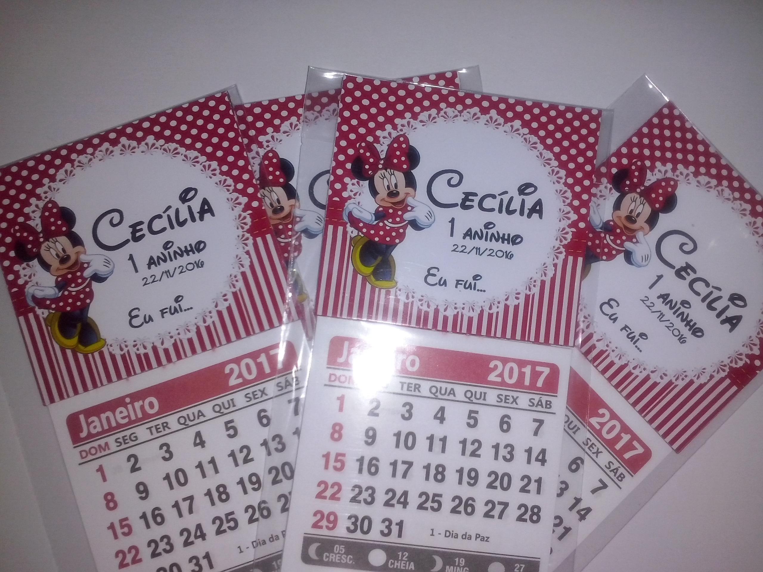 Mini Calendario.Mini Calendario Personalizado Ima 2019