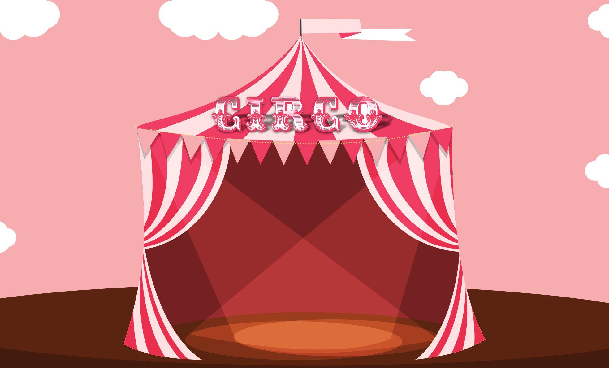 Painel Circo G Frete Gratis No Elo7 Atelier Toque Final 7e9737