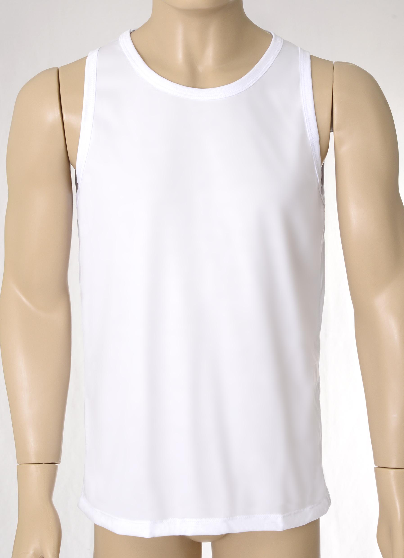 468c95f3f751b Camiseta Regata Lisa 100% Poliéster no Elo7