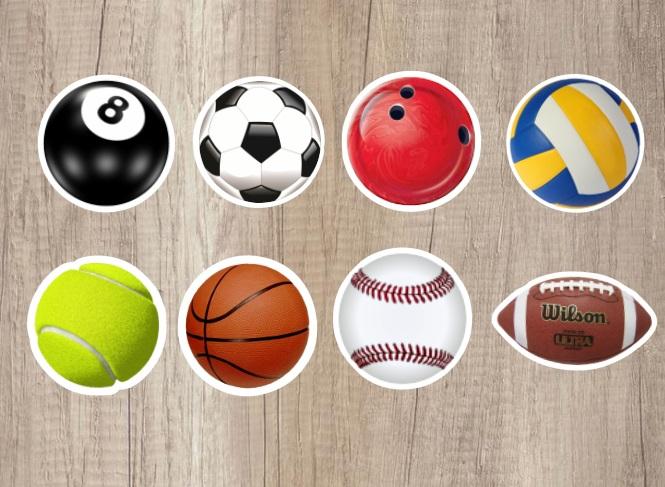 Convite Esporte Bolas  098676d99bd9e