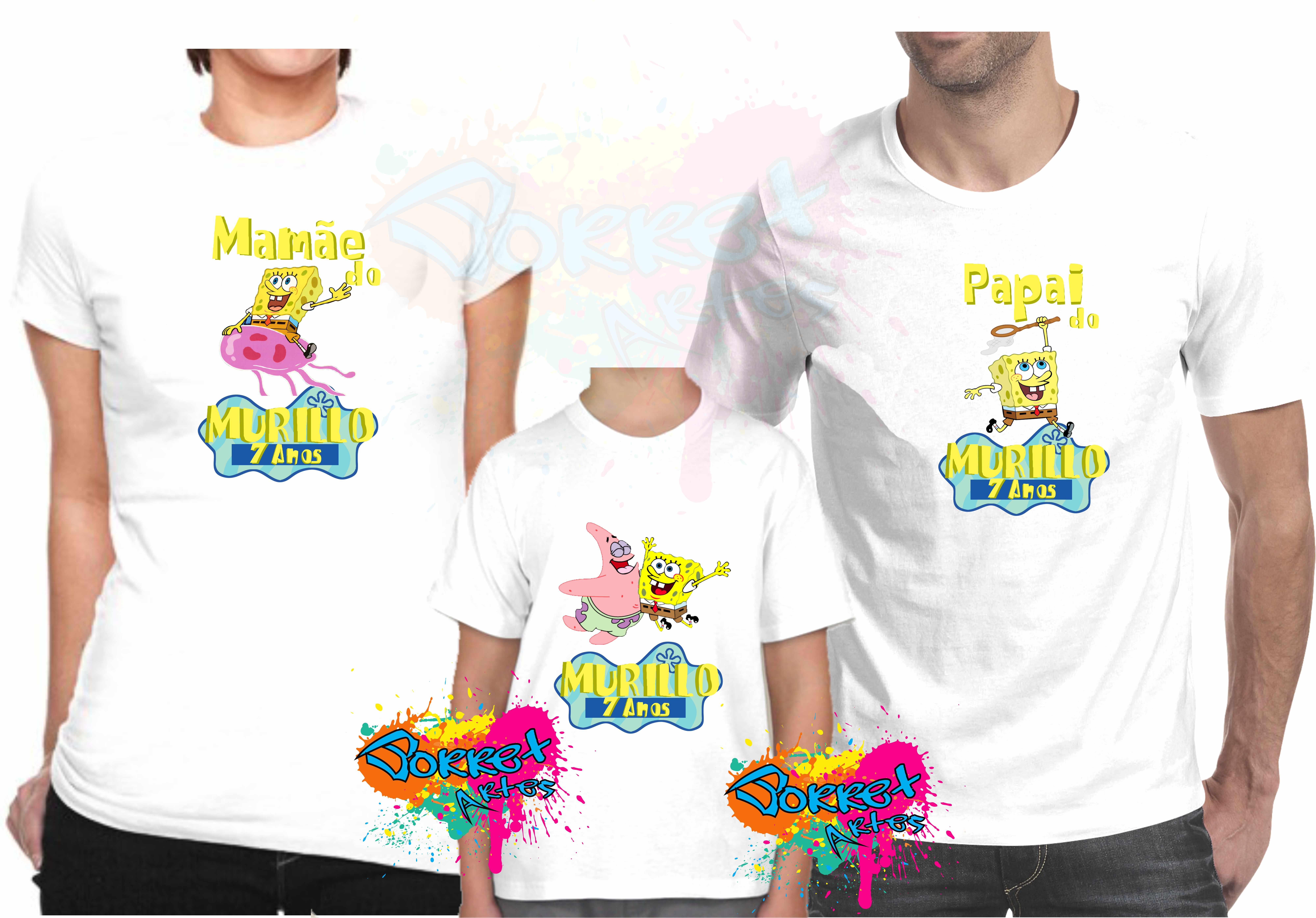 fd53e3a53c 4 camisas Chuva de Benção Kit Camisa Personalizada no Elo7 ...