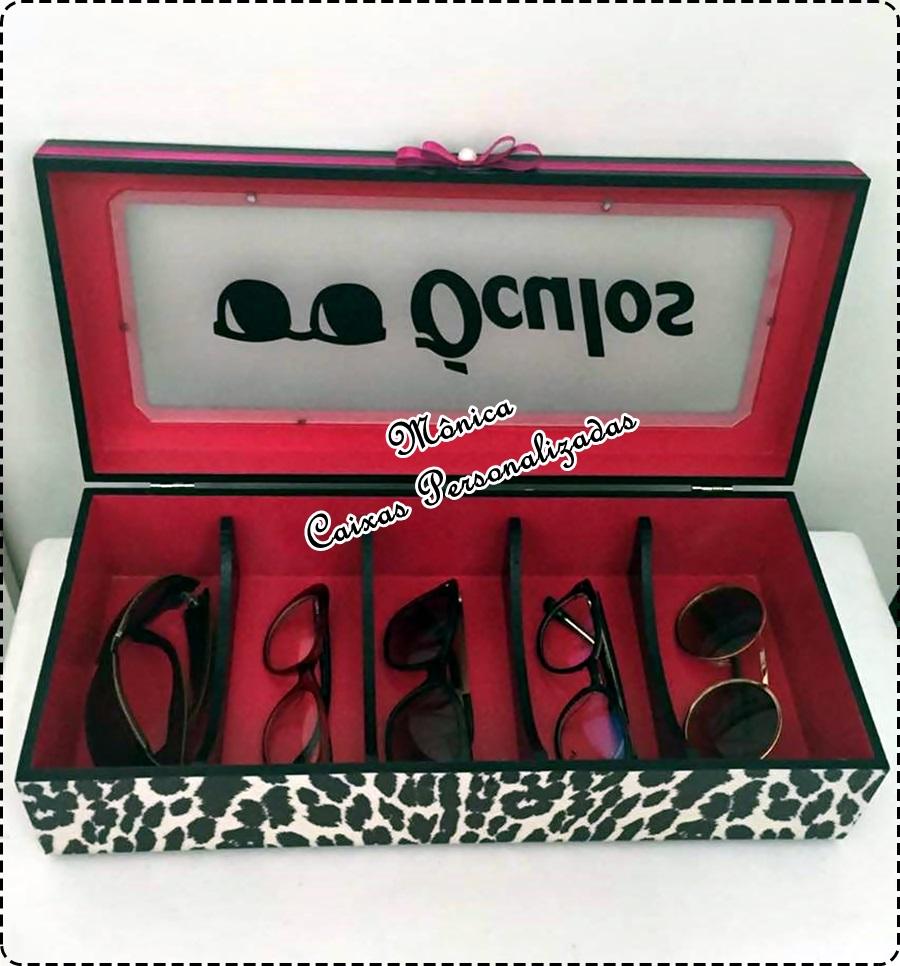 4ac83b016a306 Caixa organizadora para óculos no Elo7   Mônica Caixas Personalizadas  (7F888A)