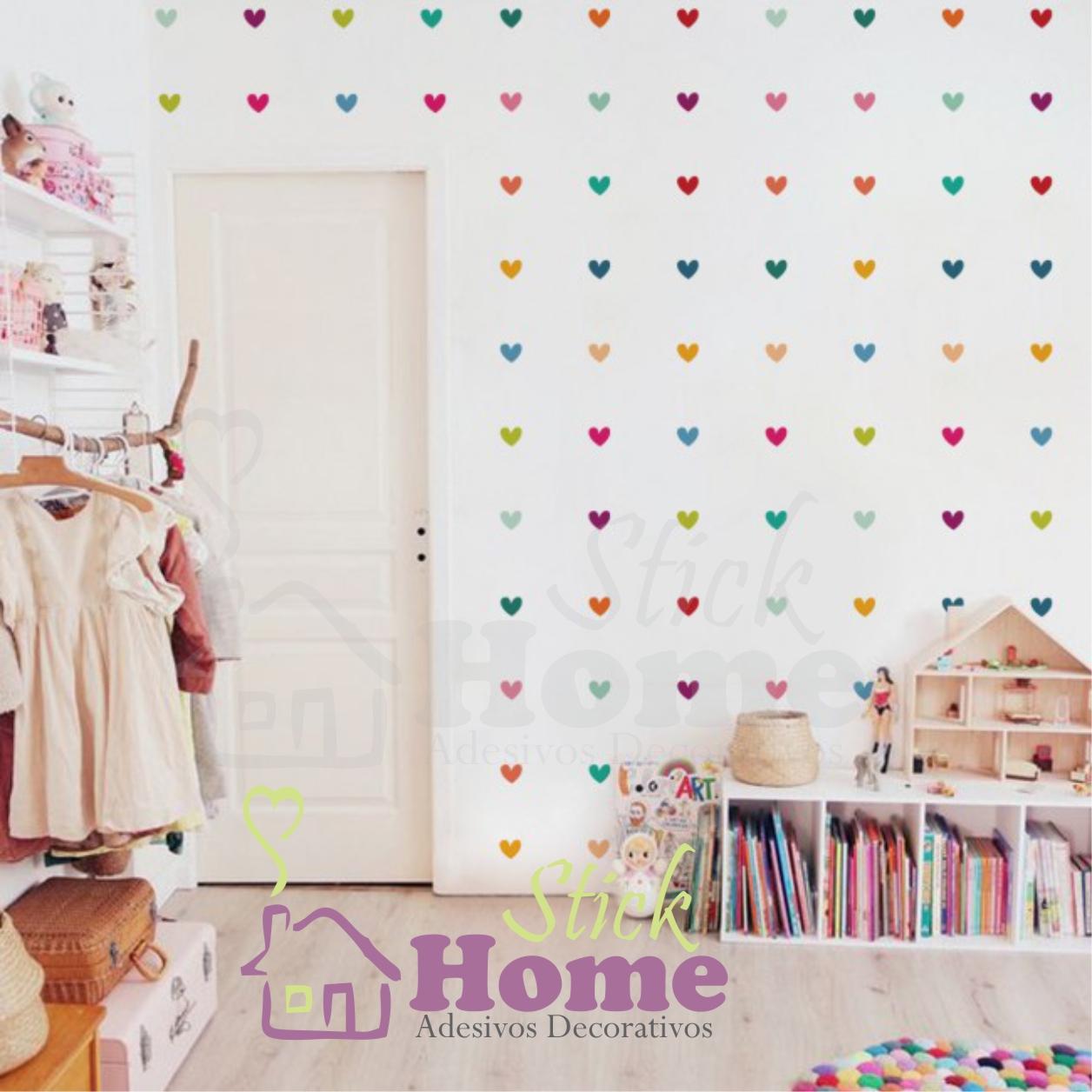 Adesivo De Parede Cora Es No Elo7 Stick Home Adesivos Decorativos