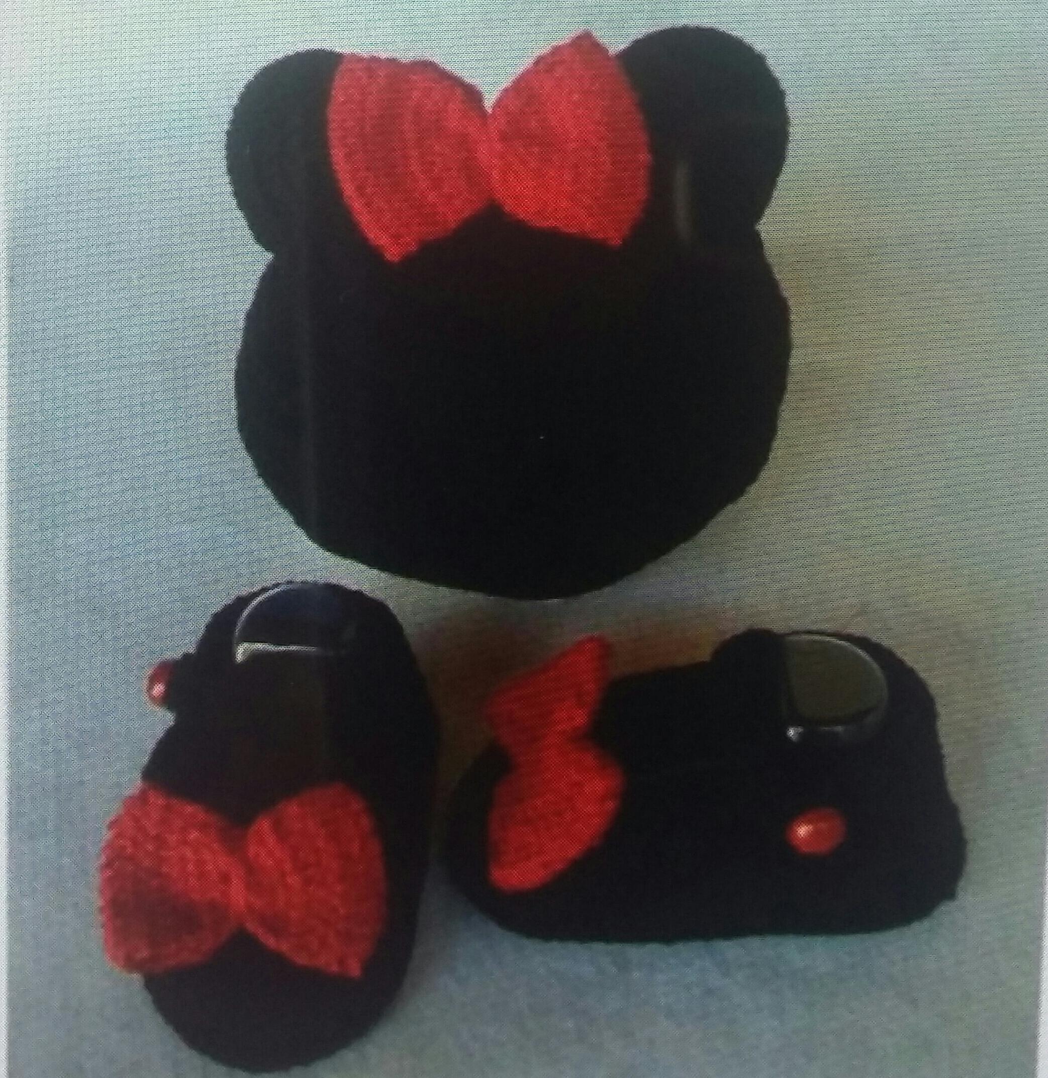 34f09774fc515 Conjunto Croche Sapatinho e Touca