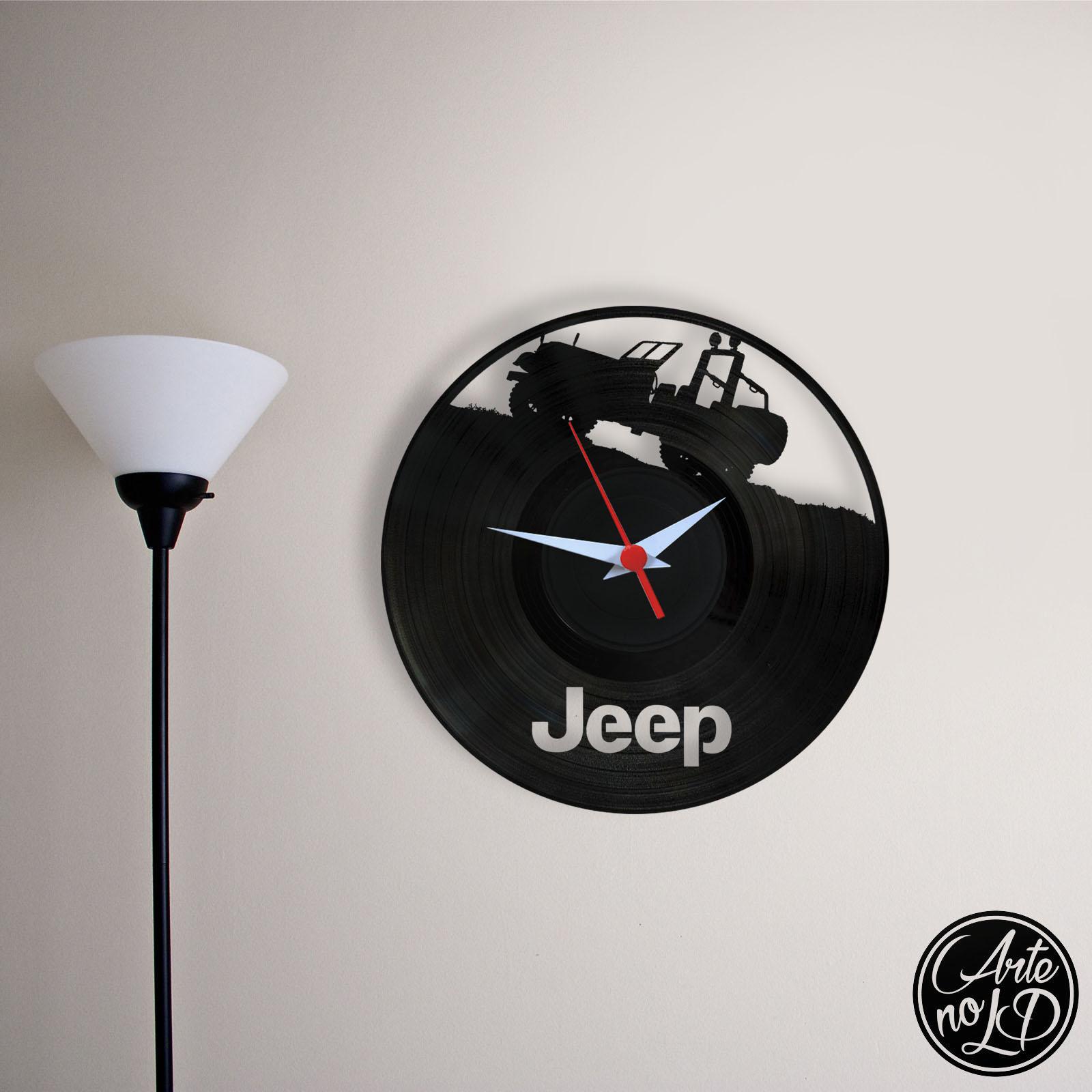 fb8339bf061 Jeep - Relógio de Parede no Elo7