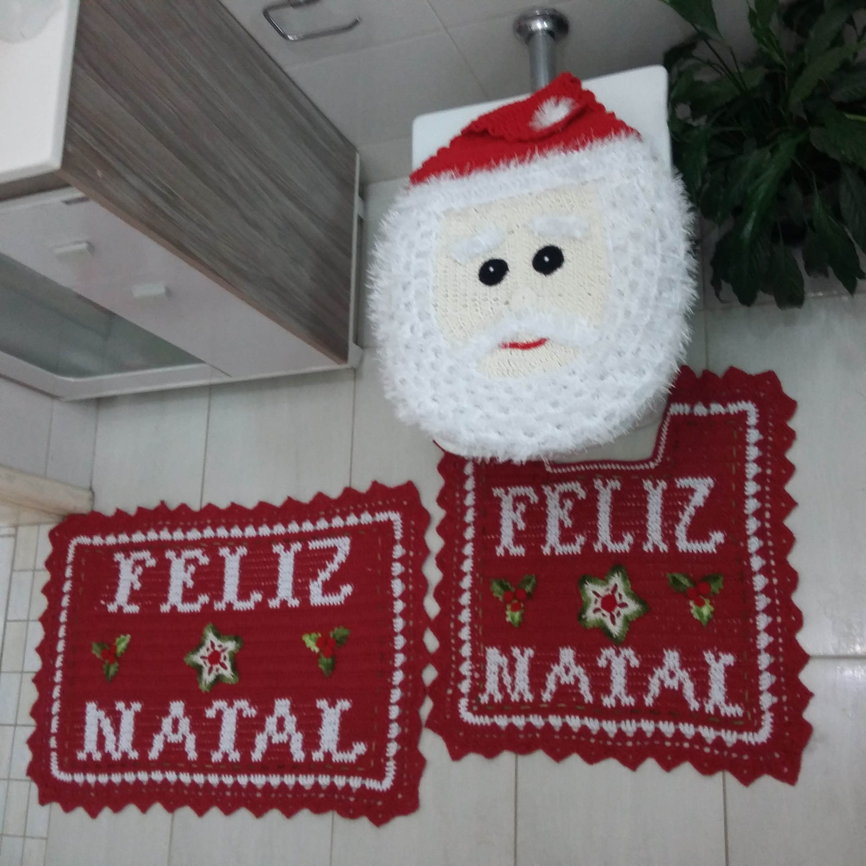 Tapete De Natal Em Croche