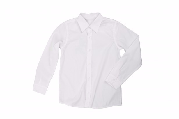 Camisa Manga Longa Masculino Adulto Branca  a89599c69e787