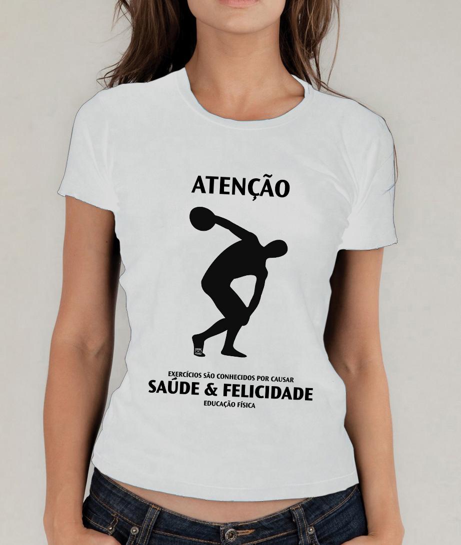 Camiseta Branca Educação Física No Elo7 Pé De Botão Filial 8040b6