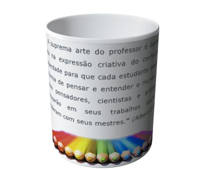 Preferência Caneca Frases para Professor | Elo7 QB94