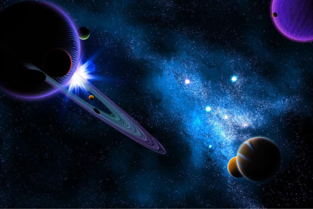 Papel De Parede 3d Universo (M²) 0003