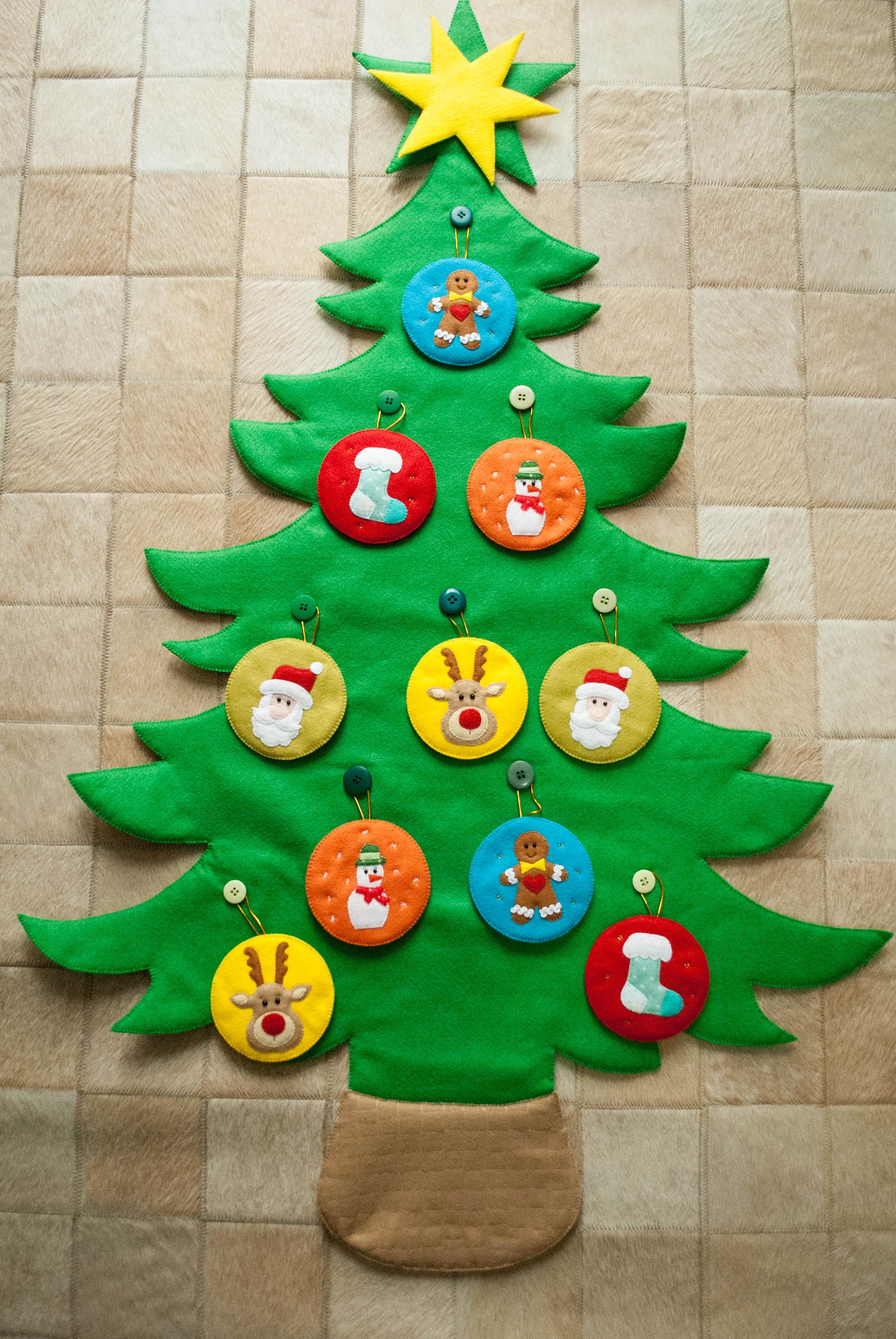 árvore De Natal Em Feltro No Elo7 Lauraline Atelier 8156c6