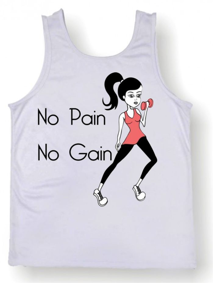 Regata Masculina No Pain No Gain  36c65966302