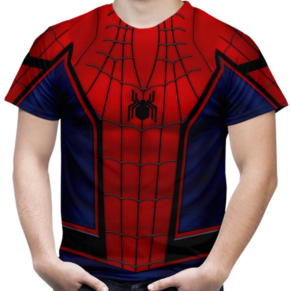 2f363ef6c Camiseta Masculina Homem Aranha MD05 no Elo7