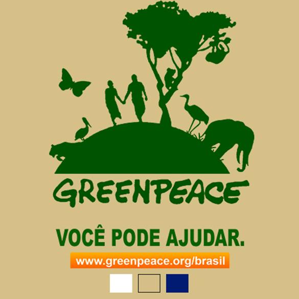 Camiseta Greenpeace - Você Pode Ajudar no Elo7  5c3d319afc3f0