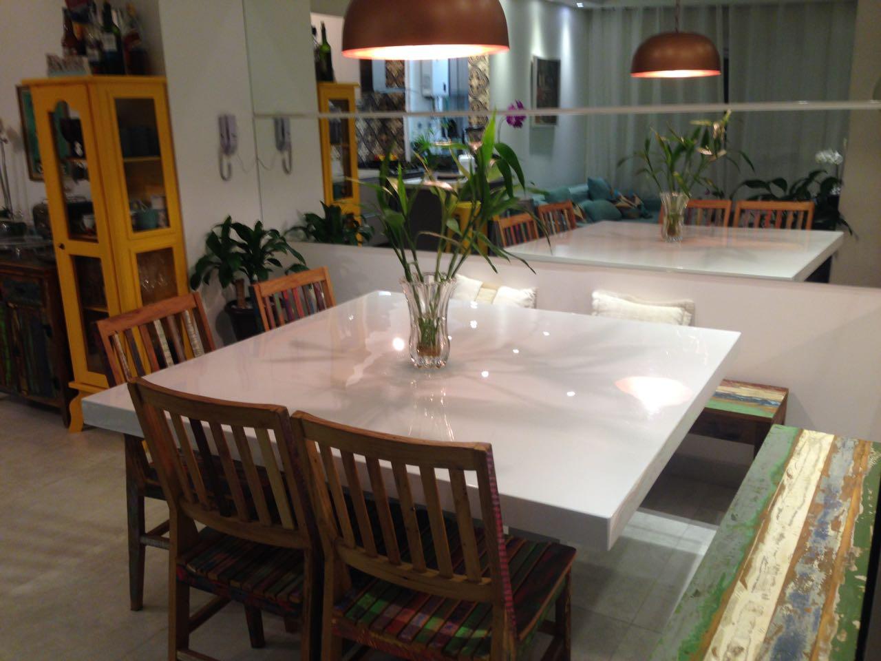 Mesa jantar de resina quadrada 1 10x1 10 resinatto - Mesa resina carrefour ...