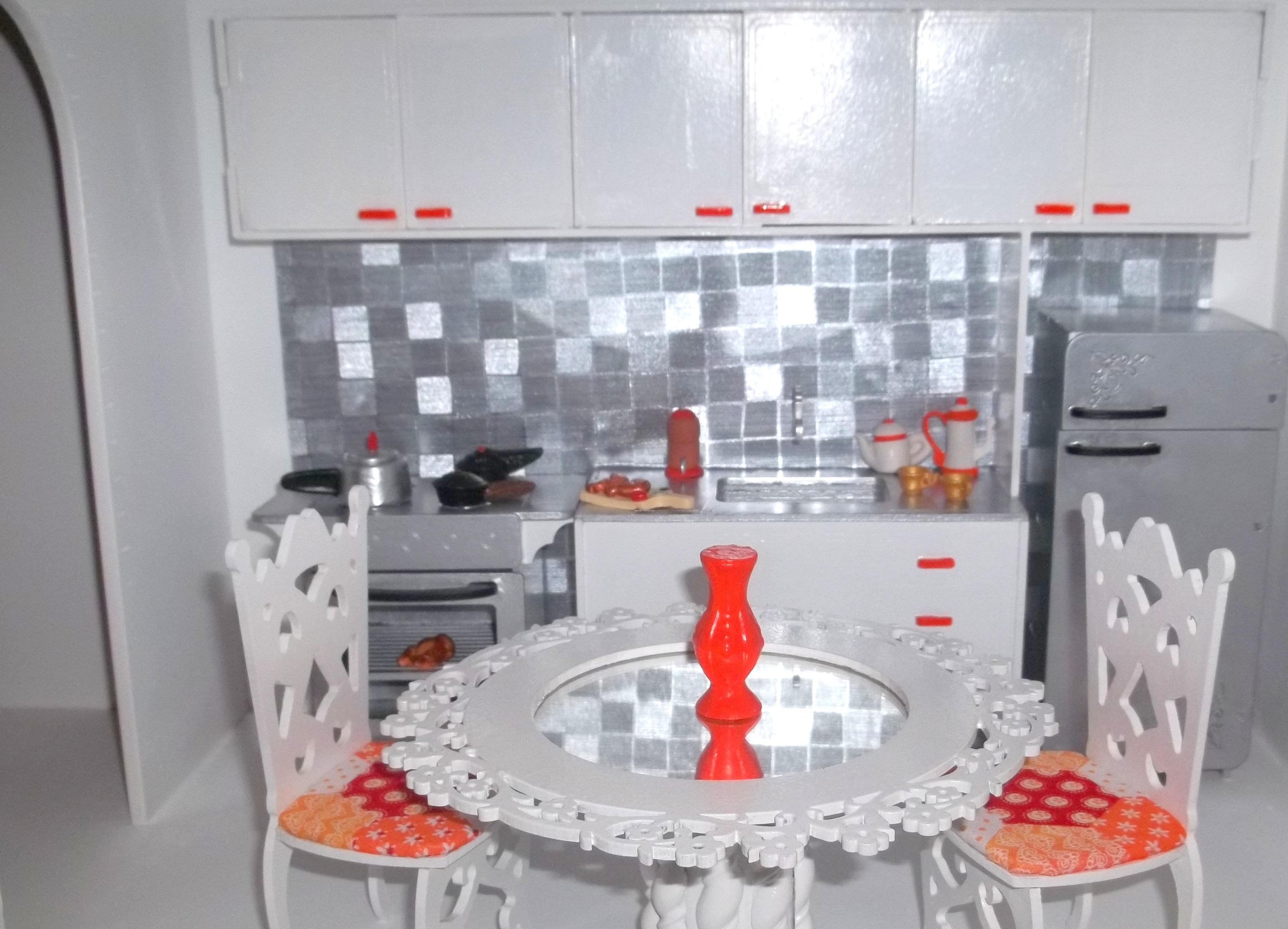 Cozinha Para Barbie Completa No Elo7 Adriana Pantoja Ateli