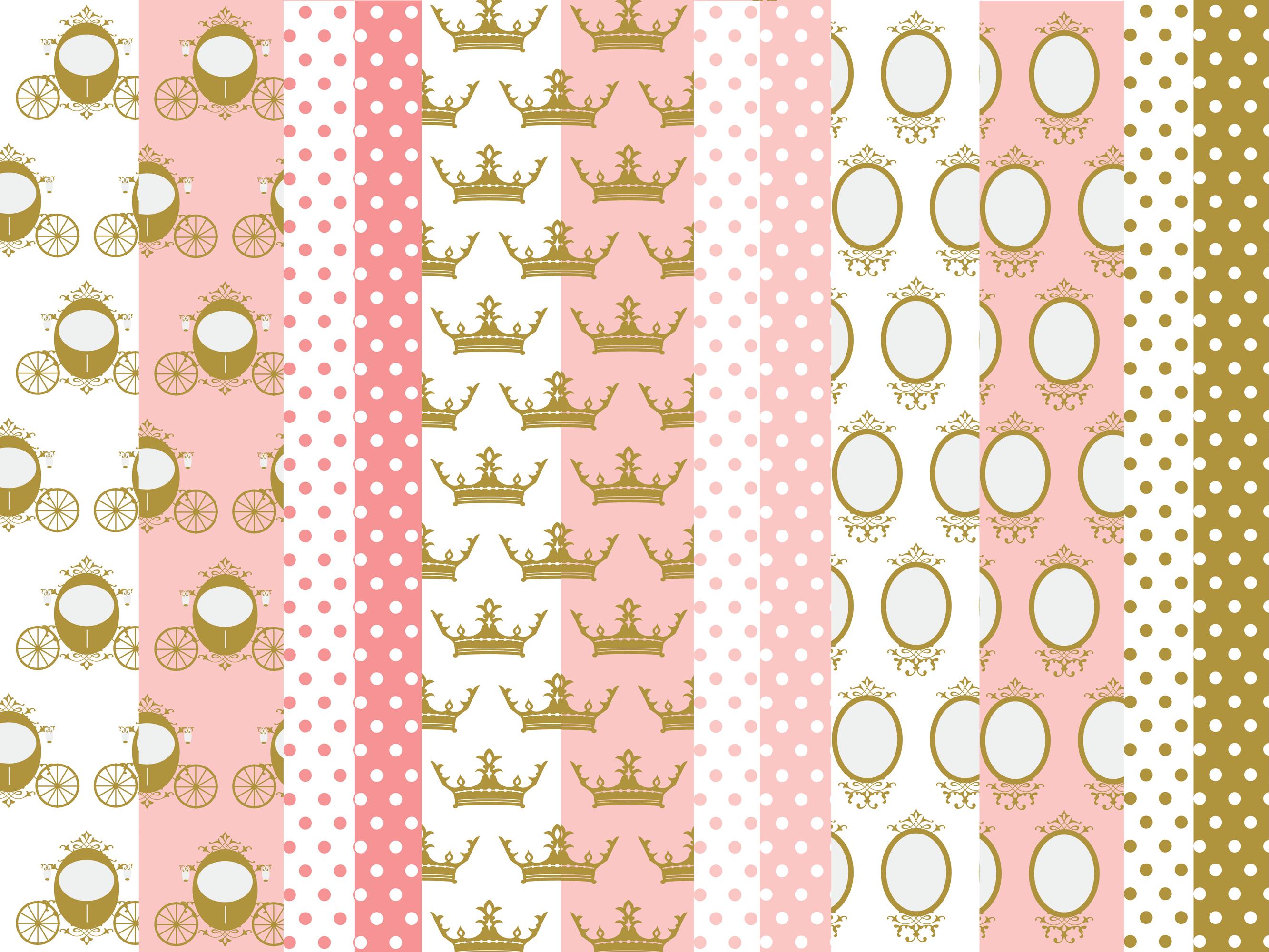 12 Scrapbook Papel Digital Princesa No Elo7 Loja Vinmo 827a62
