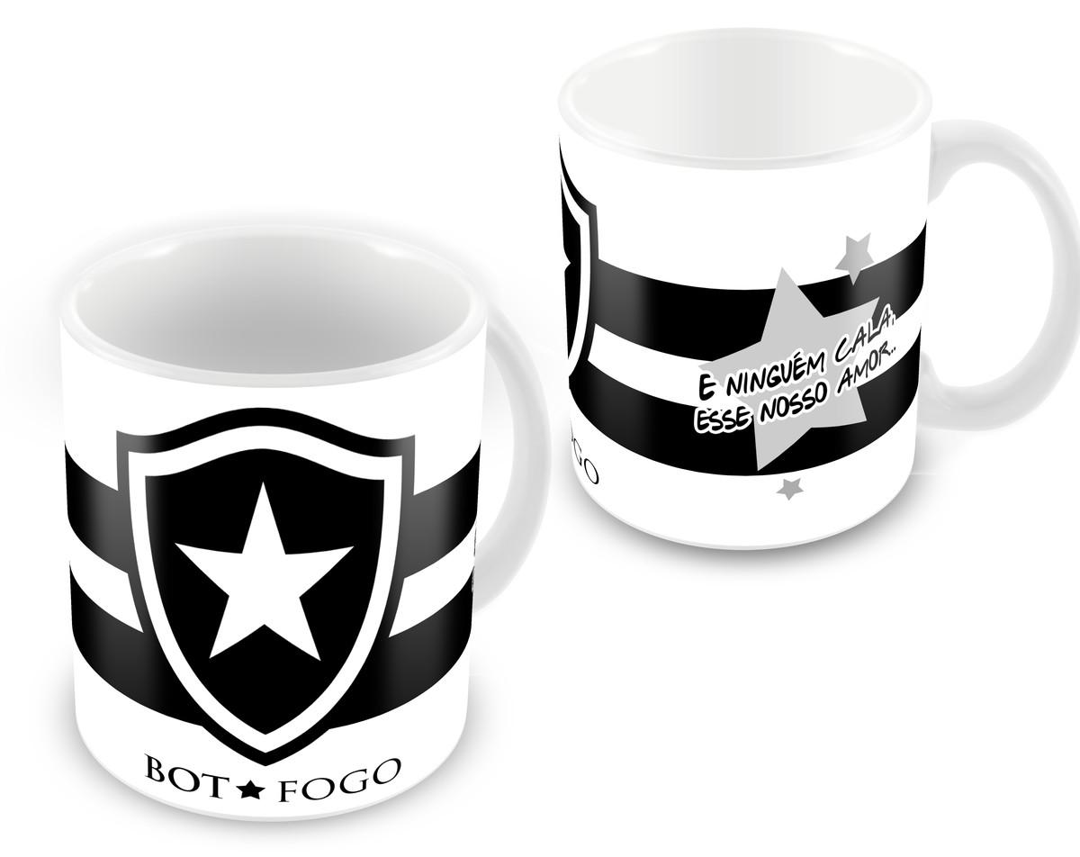 Caneca Personalizada do Time Botafogo 2019  a963a767ec7