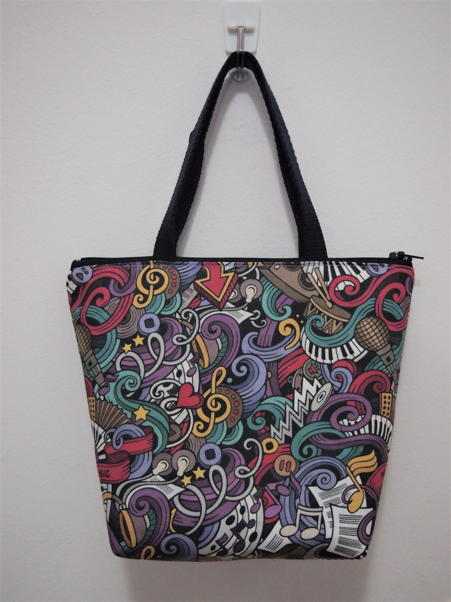 Bolsa De Desenho Música Mão Com N8mwyvn0O