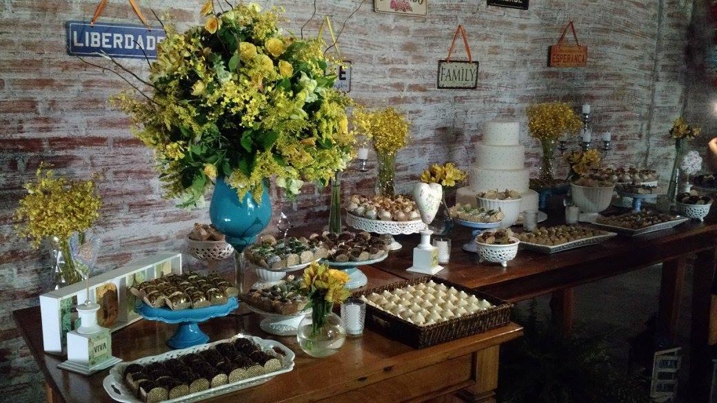 Well-known Mini Wedding -Decoração rústica no Elo7 | Balaio de Emoções (839734) AS28