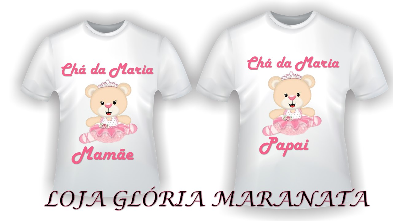 Camiseta Personalizada Gestante C2 No Elo7 Loja Gloria Maranata