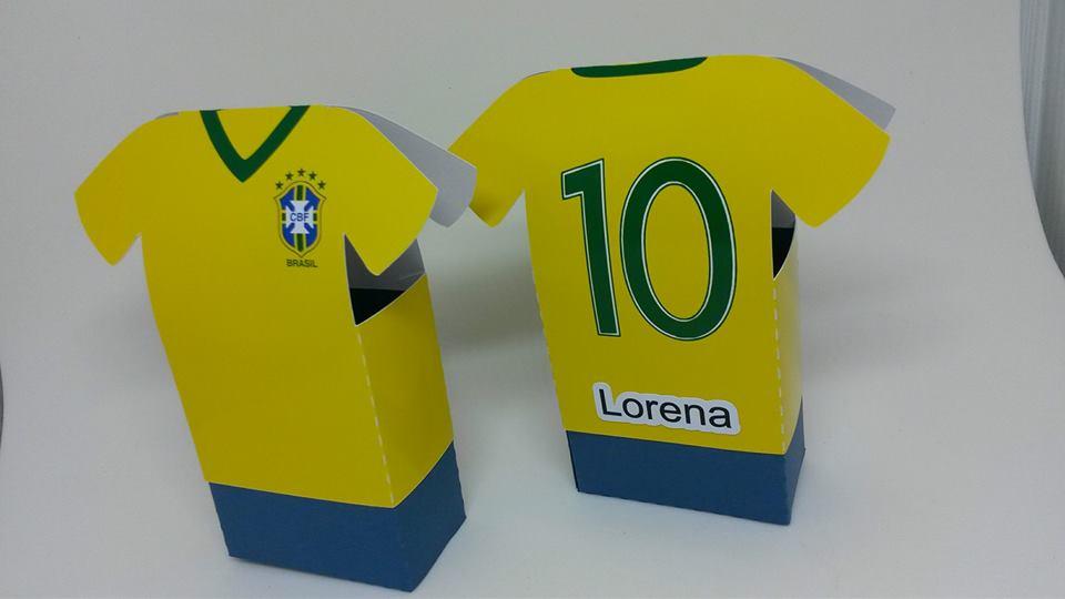 Caixa Camisa de Futebol Santos  a700e2e5afe18