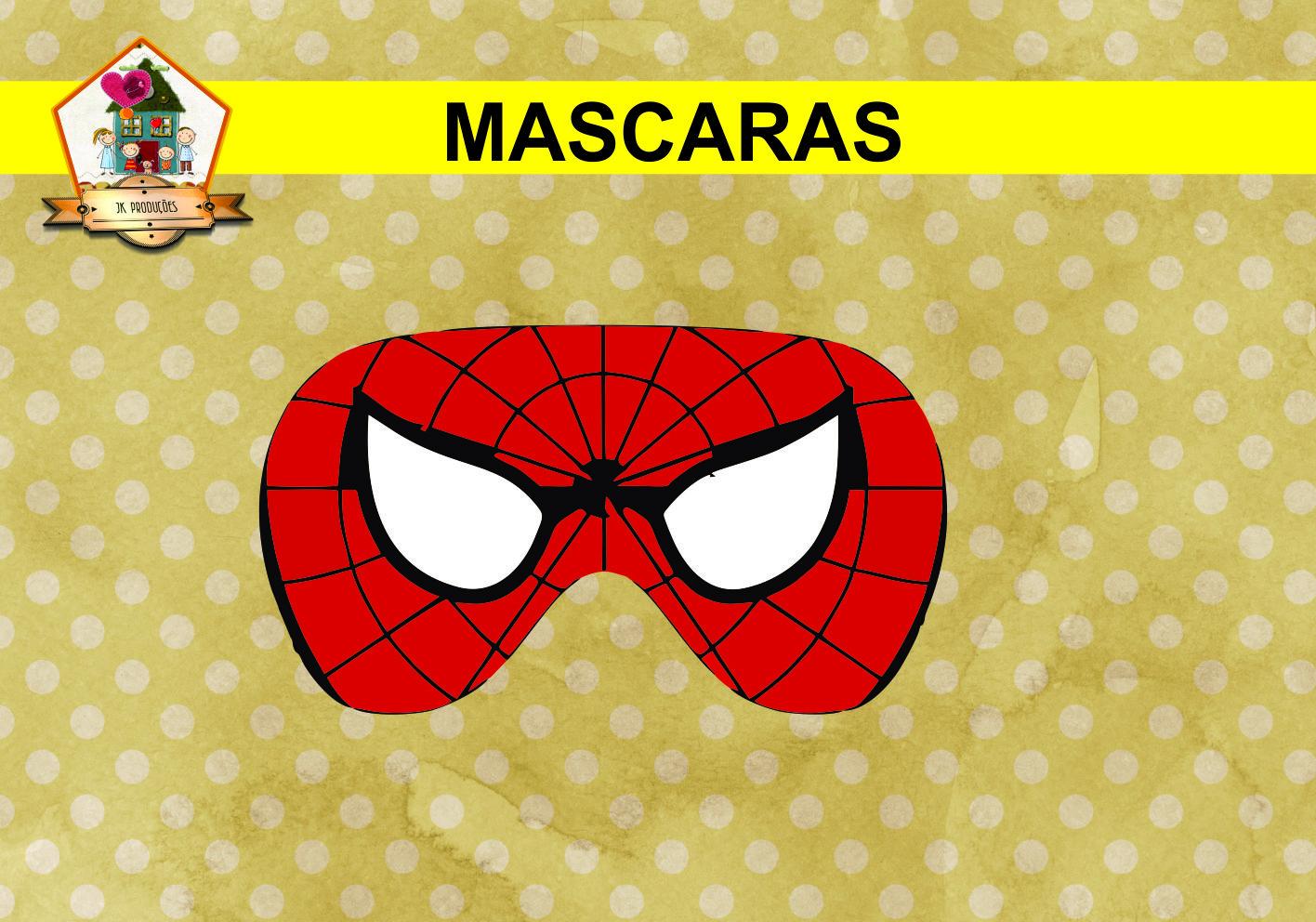 Mascaras Homem Aranha No Elo7 Jk Producoes 84e6ee