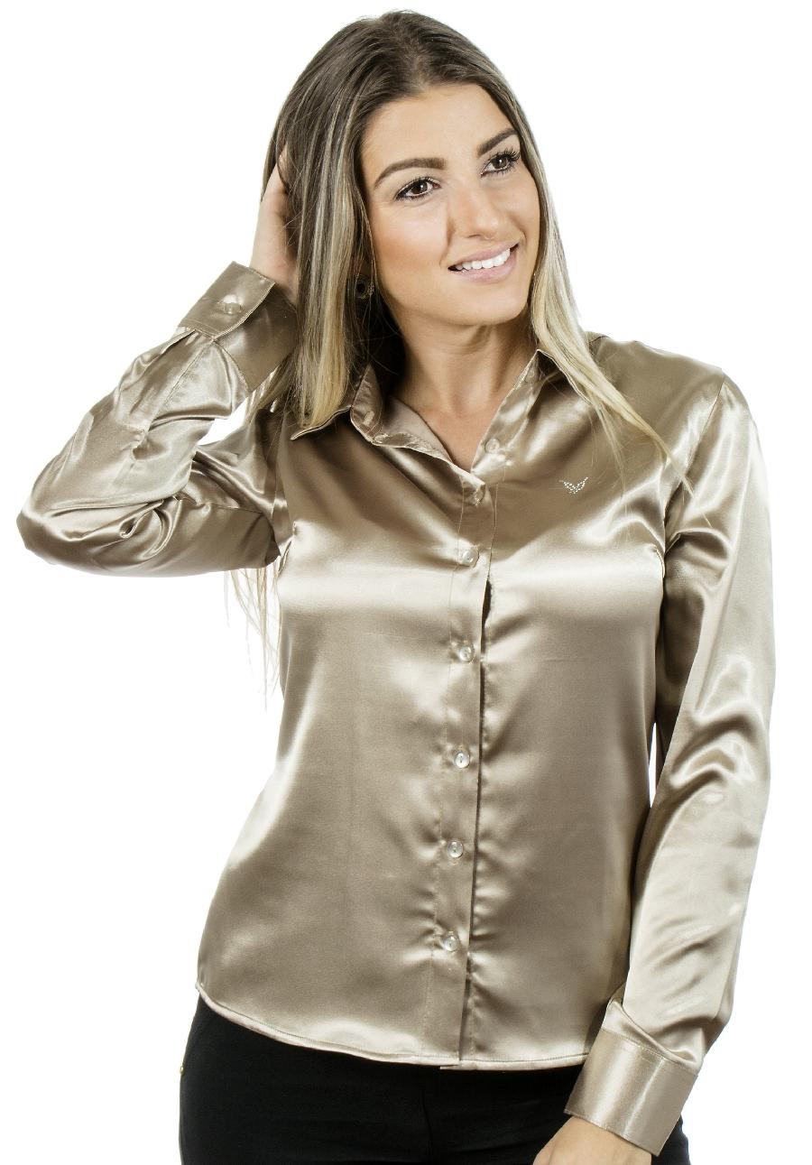 Camisa Feminina Laís Pimenta Rosada no Elo7  1bf059c76aca4