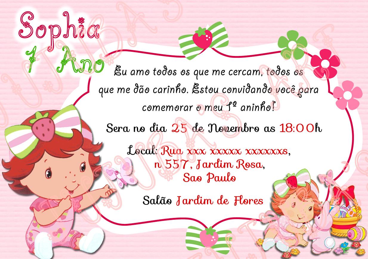 Arte Digital Convite Moranguinho Baby No Elo7 Jujuba S Art 85806a