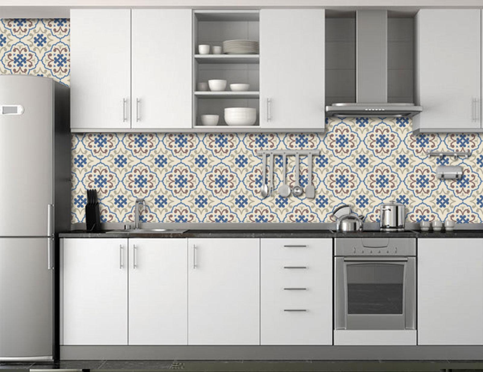 2b61db0f2 Adesivo Parede Cozinha Azulejo
