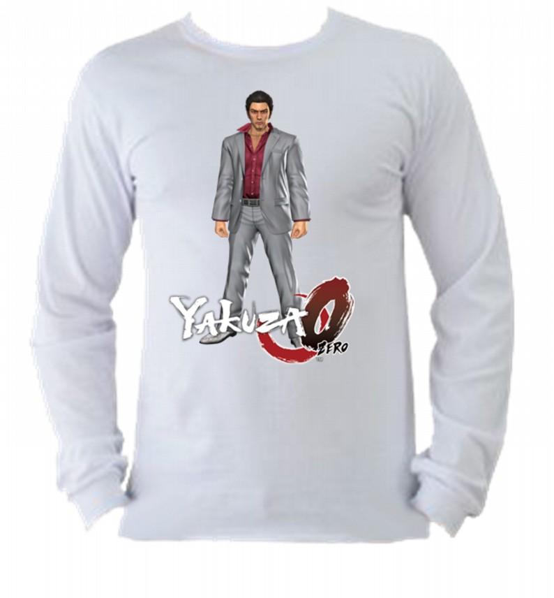 Camiseta Yakuza Manga Longa 2  0ff54e17e20a9
